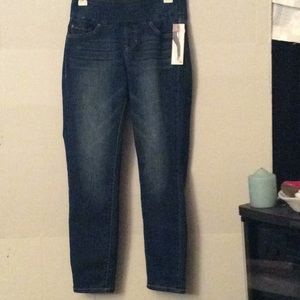 NWT Jag Jeans high rise slim ankle # 4